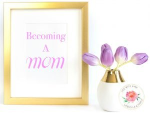 Becoming a mom - featured