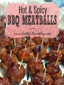 Hot & Spicy BBQ Meatballs