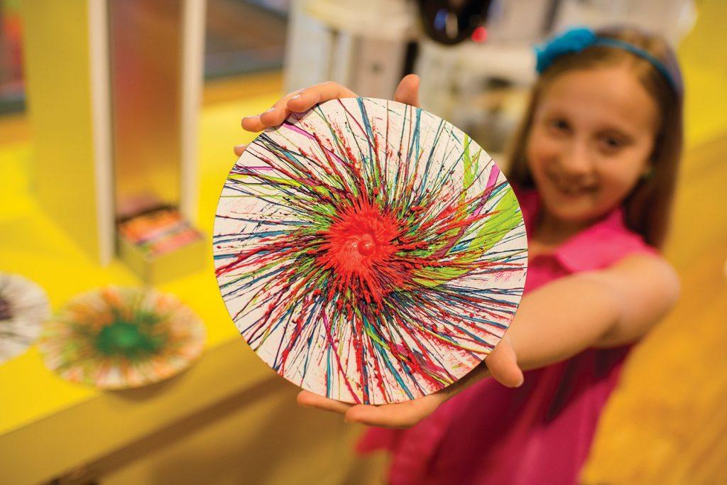 Crayola Spin Art
