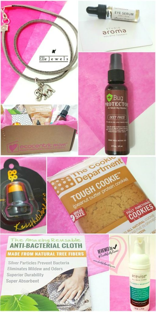 Ecocentric Mom Box Contents