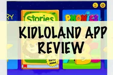 My Favorite Kid's app: KidloLand Review + Giveaway