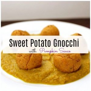 Sweet Potato Gnocchi - Life with Kami