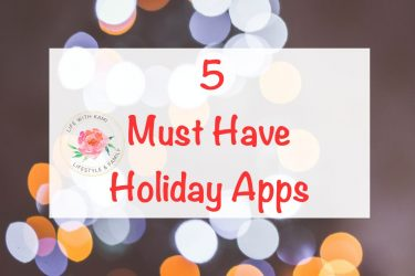 5 Must Have Holiday Apps