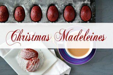 Christmas Madeleines