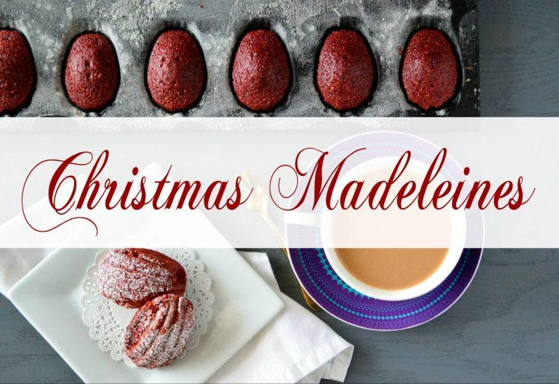 Christmas madeleines recipe