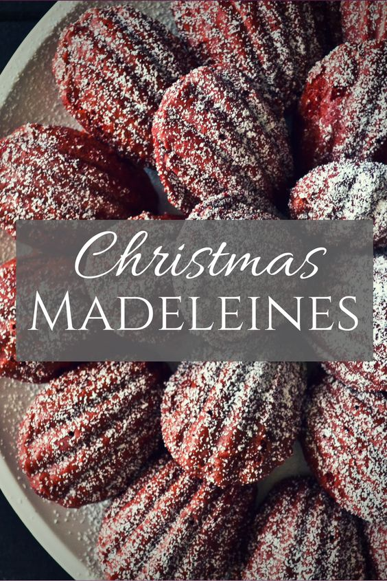 Christmas Madeleines recipe