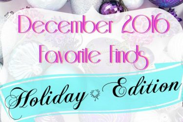 December 2016 Favorite Finds (Holiday Edition)