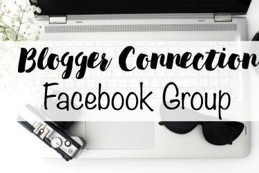 Blogger Connection Facebook Group