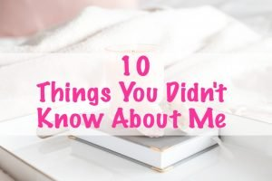 10 things you didn't know about me featured image