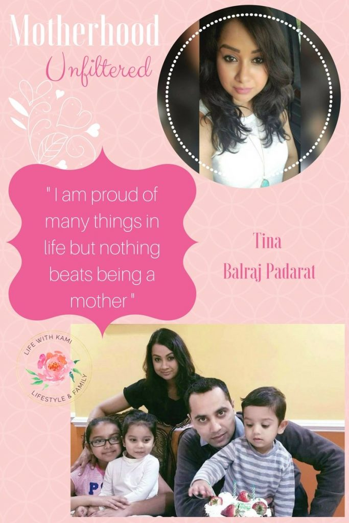 Tina Balraj - Motherhood feature