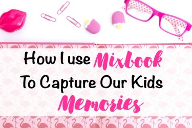 How I use Mixbook to capture our kid's memories