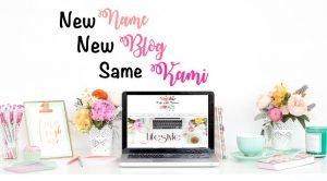 new name new blog same kami