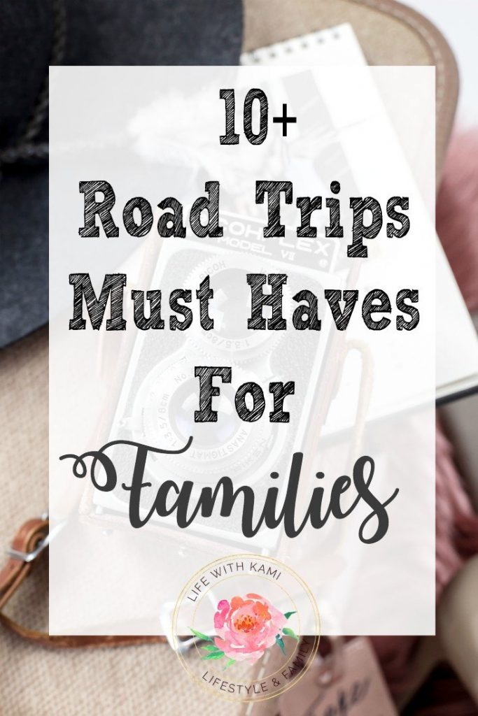 10 road trip must haves for families