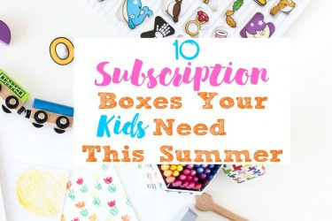 10 Subscription Boxes Your Kids Need This Summer