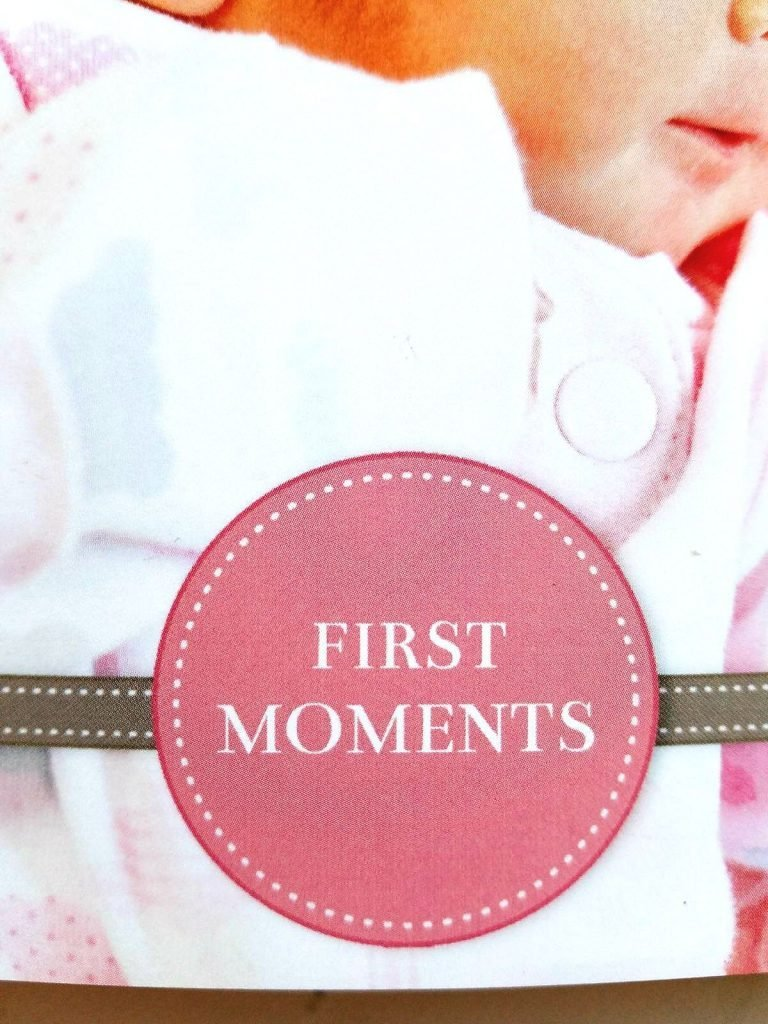 first moments - baby mixbook