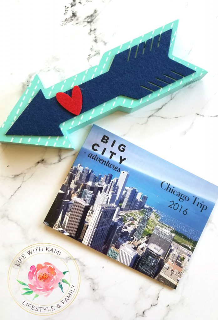chicago vacation mixbook cover