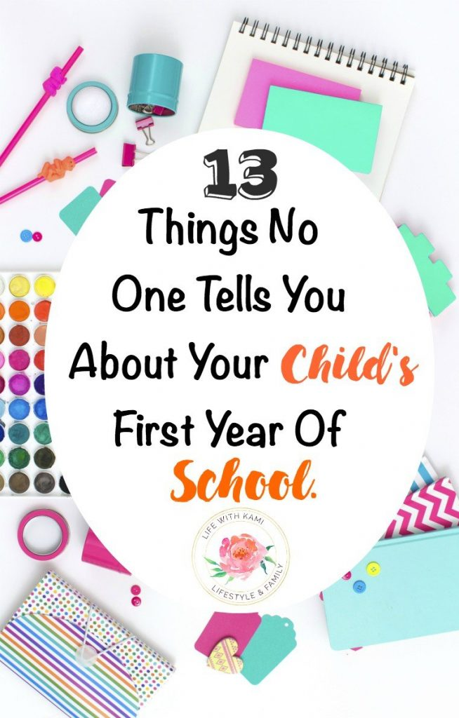 13 things no one tells you about your child's first year of school