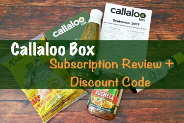 Callaloo Box Subscription Review plus Discount Code