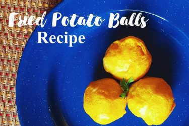fried potato balls recipe