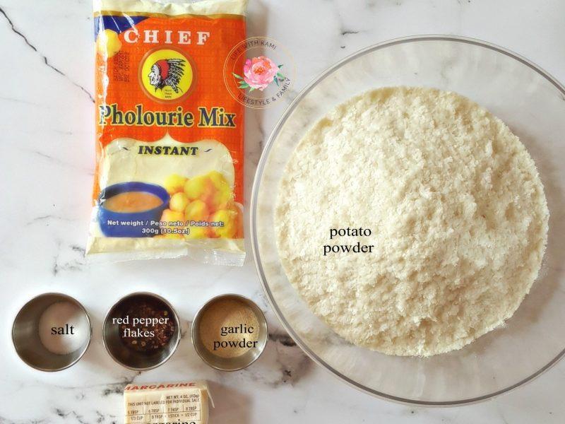 potato balls ingredients