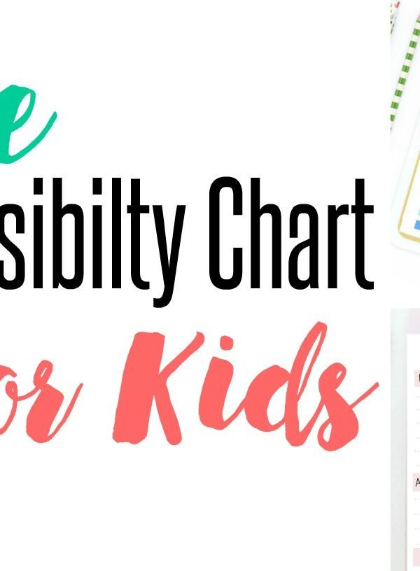 Free Responsibility Charts For Kids