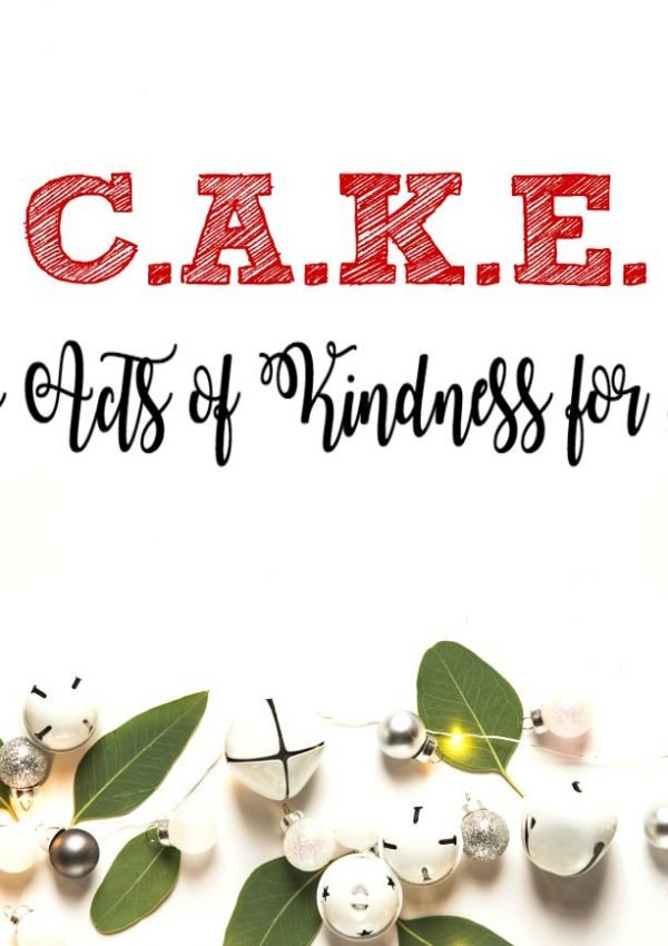 C.A.K.E. (Christmas Acts of Kindness for Everyone)