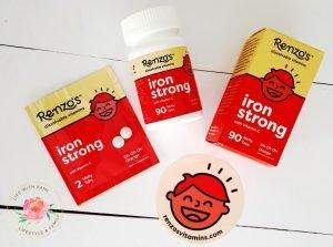 Renzo's kids vitamins iron strong