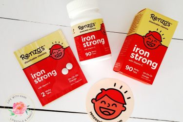 Renzo's Vitamins Iron Strong