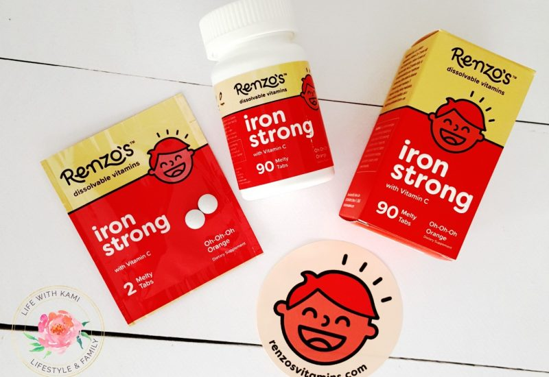 Renzo's kids vitamins iron strong