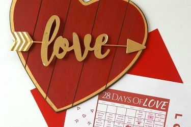 28 Days Of Love Calendar