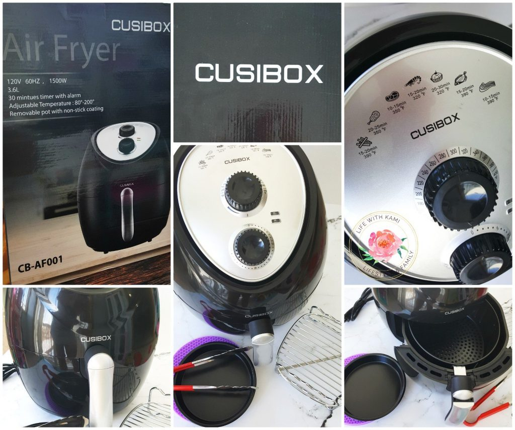 cusibox air fryer