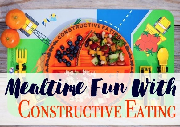 Mealtime Fun with Constructive Eating (Garden Fairy Review)