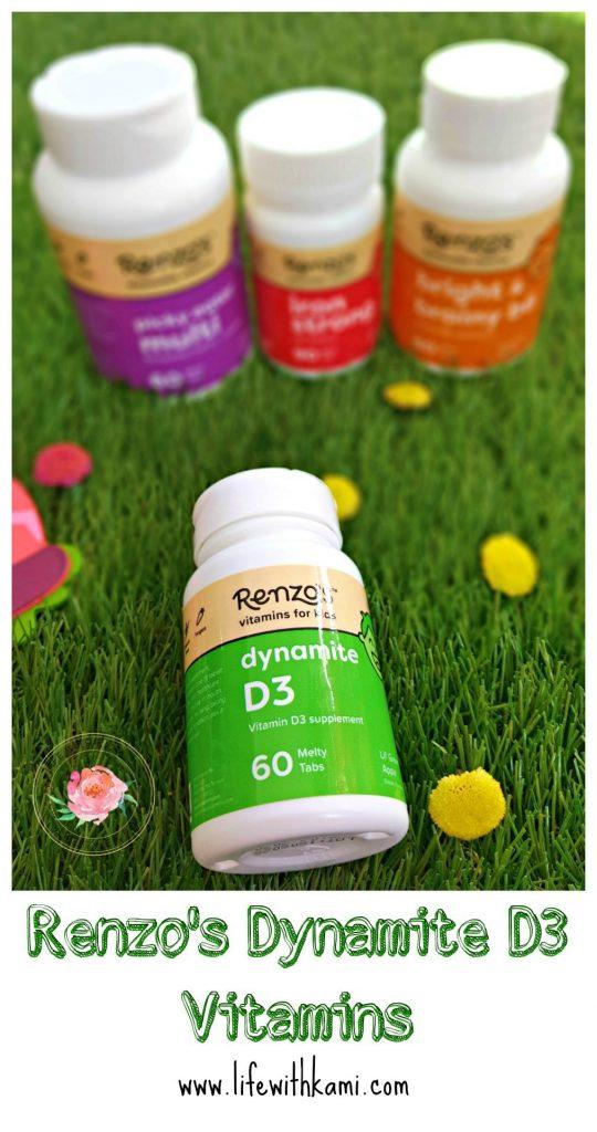 Renzo's Dynamite D3 Vitamins
