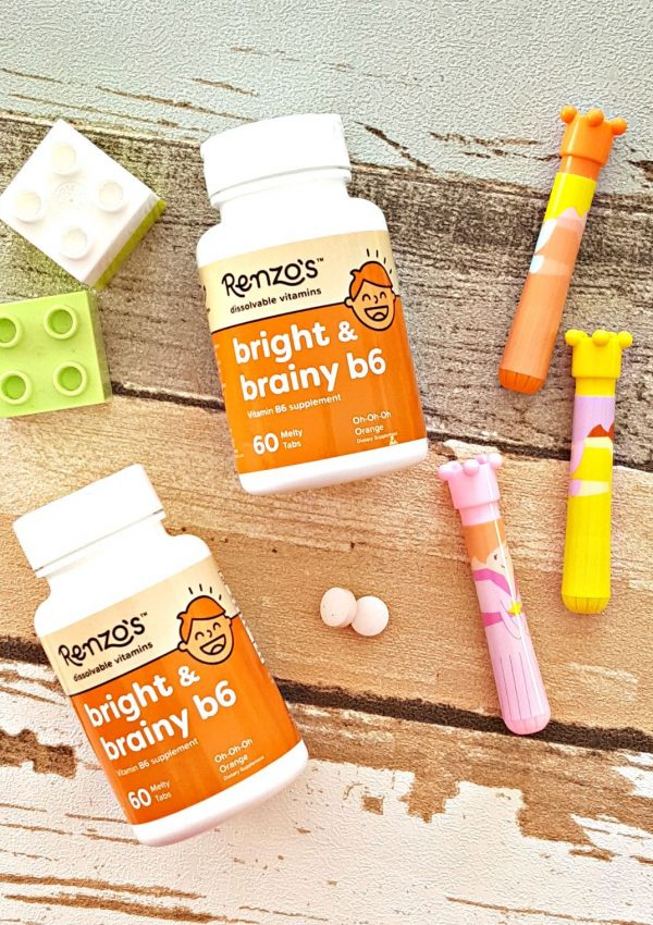 Renzo's Bright & Brainy B6 Vitamins