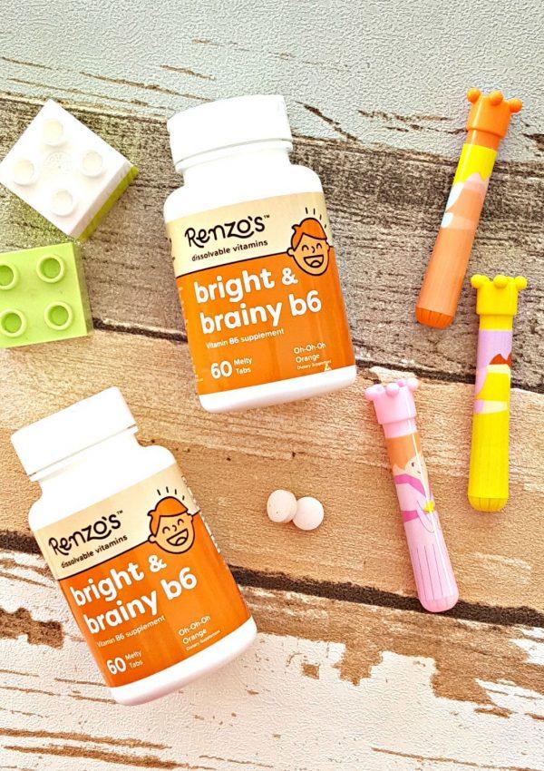 Renzo's Bright & Brainy B6 Vitamins