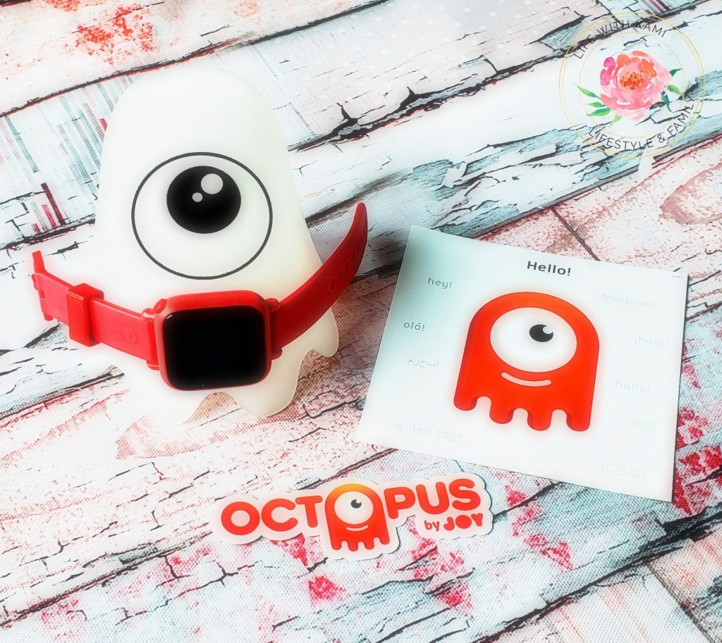 Teaching kids to learn schedule and time with the JOY Octopus watch