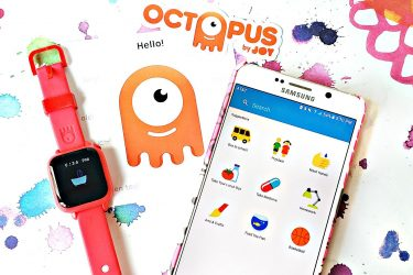 Teaching kids good habits and time - Joy Octopus Watch bundle