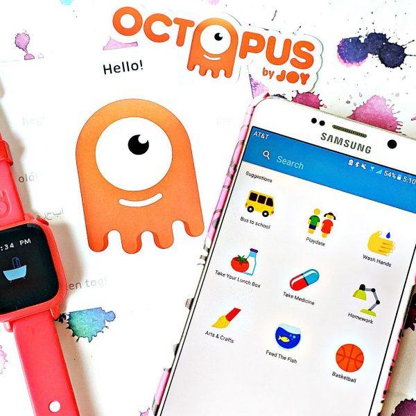 Teaching kids good habits and time - Joy Octopus Watch bundle