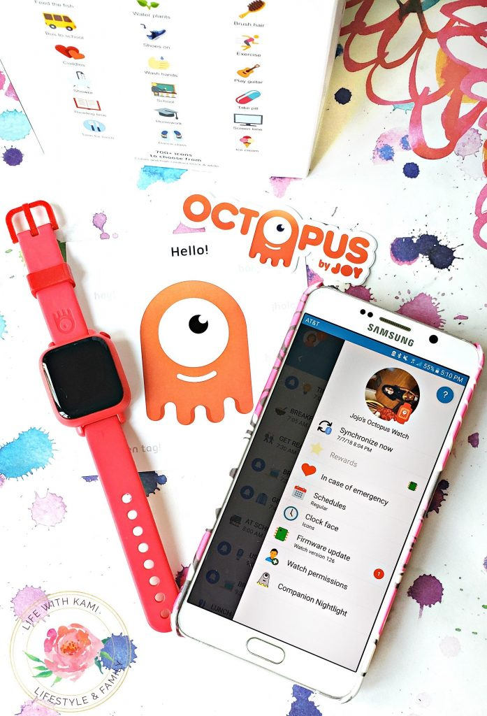 Teaching kids good habits and time with the Joy Octopus Watch bundle.