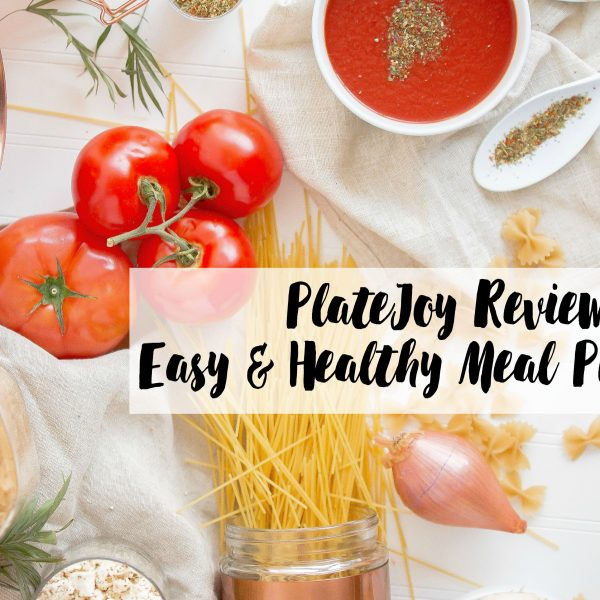 Meal Planning made easy with PlateJoy