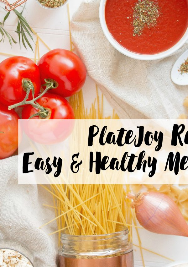 PlateJoy Review – Easy & Healthy Meal Planning