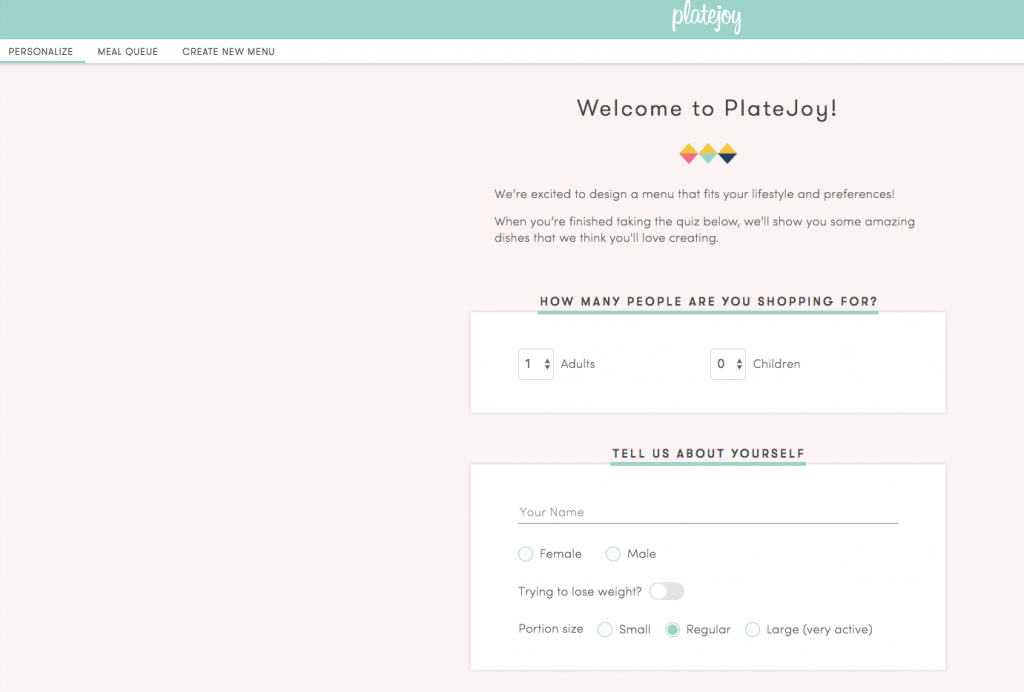 PlateJoy Review: Easy and Healthy Meal Planning