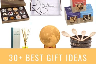Gifts for the whole family, chocolates, frames, wine, subscription boxes