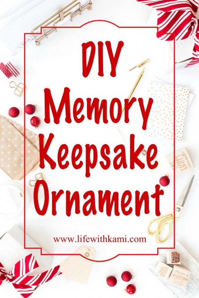 craft DIY table with ornaments