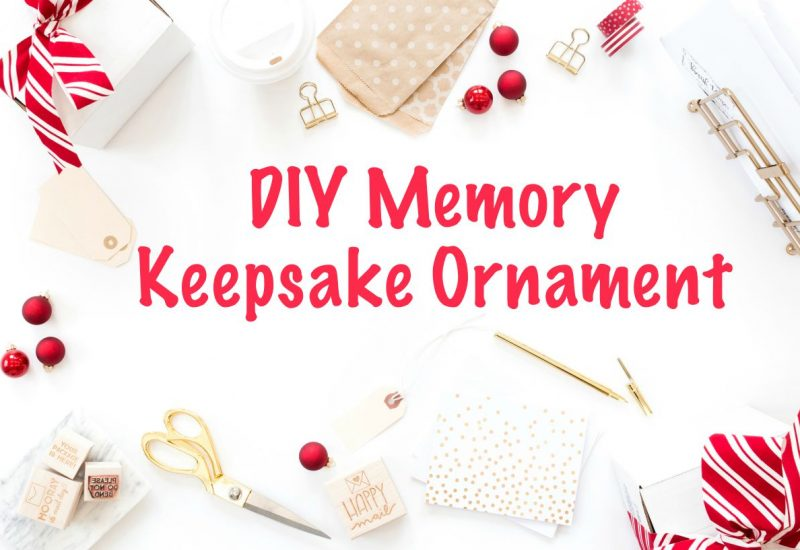 DIY Memory Keepsake Ornament