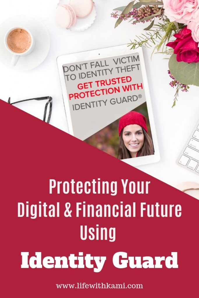 Protecting Your Digital & Financial Future Using Identity Guard flyer