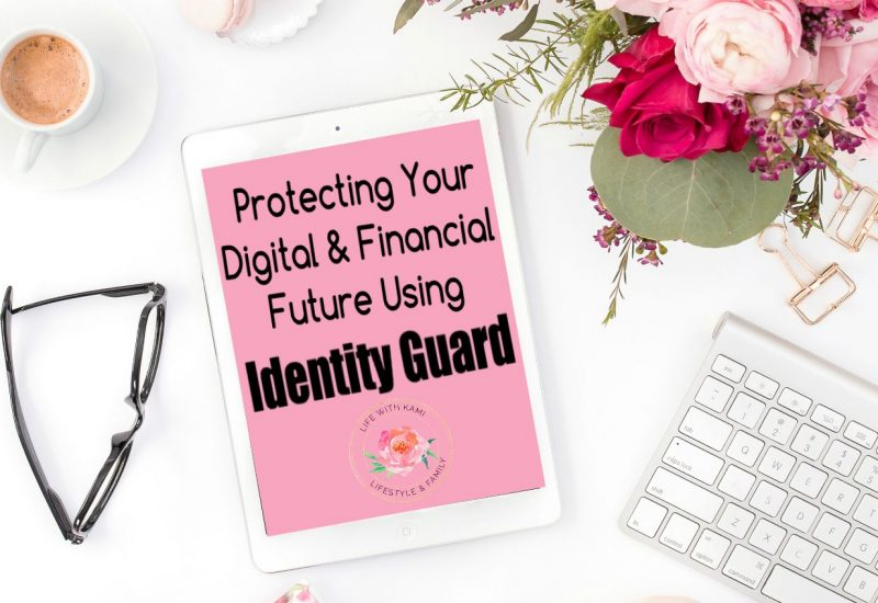 ipad and app protecting your digital and financial future using Identity Guard