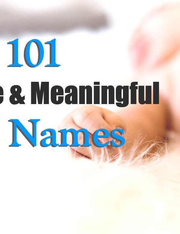 101 Unique And Meaningful Boy Names