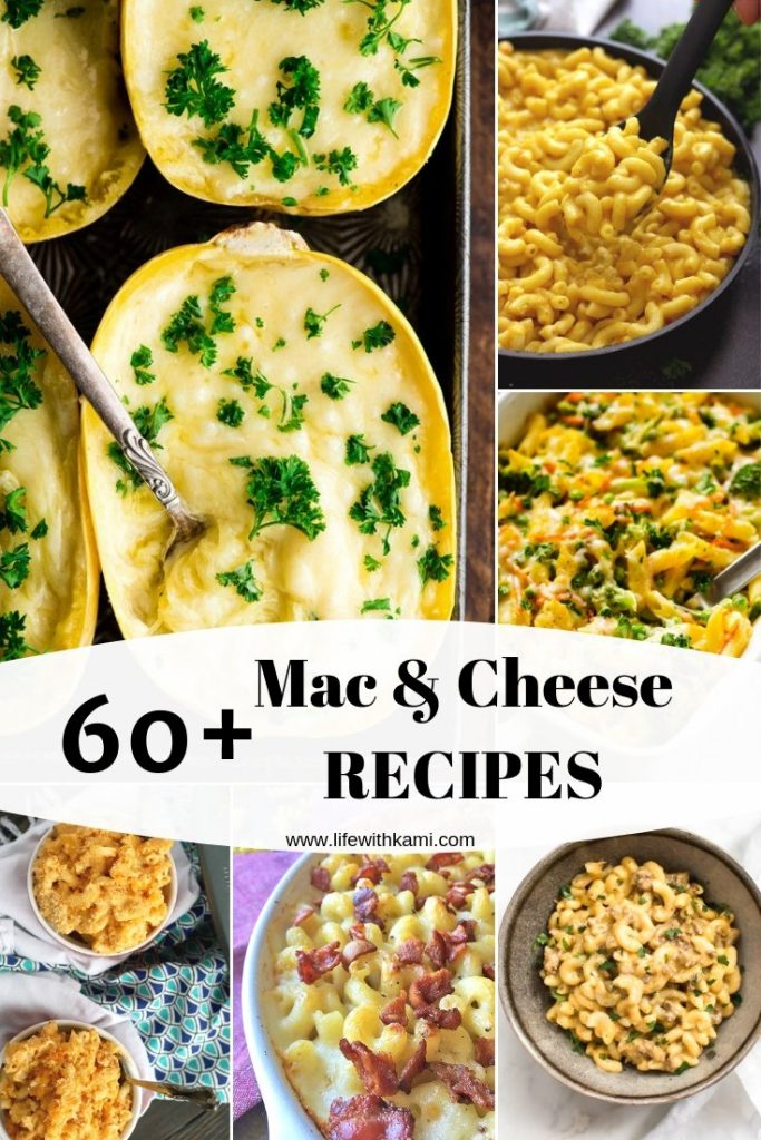 60+ mac and cheese recipes