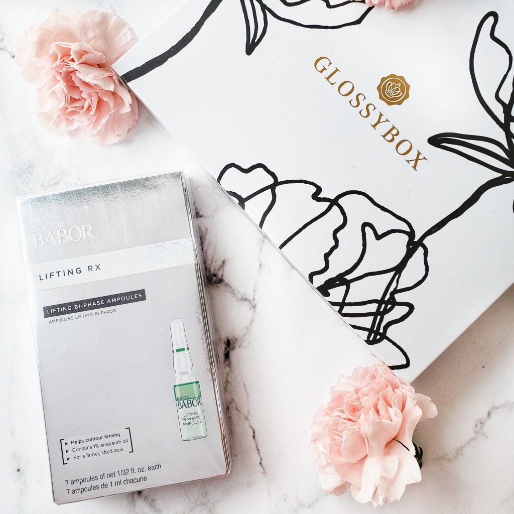 GLOSSYBOX UNBOXING AND REVIEW